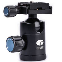 Sirui C10X Ball Head for Mirrorless Cameras up to 4kg  Incl Arcastyle Camera Plate