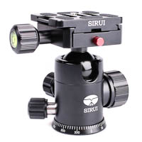 Sirui G10X Ball Head for DSLRs and Mirrorless Cameras up to 18kg  Incl Arcastyle Camera Plate
