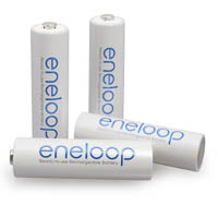Sanyo eneloop 4x Storage Batteries AA Mignon Cells Precharged