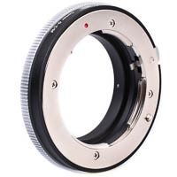 Lens Mount Adapter Contax G  Canon EFM eg for Canon EOS M