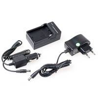 Compact Battery Charger Quenox for Panasonic DMWBLF19E