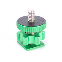 Cam Caddie 1420 Flashner Accessory Adapter  metallicgreen