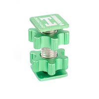 Cam Caddie DFlashner Accessory Adapter  metallicgreen
