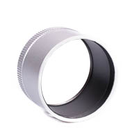 Kiwifotos Lens Adapter for Leica X2 X1 49mm  silvercolored