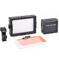 Quenox DV96V LED Video Light 1300 Lux 100 cm  Basic Kit