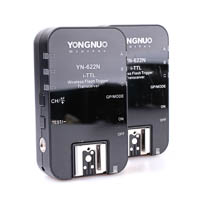 Yongnuo YN622N Wireless iTTL Flash Trigger for Nikon with SCS HSS Auto FP and Flash Group Control
