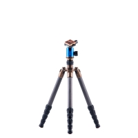 3 Legged Thing Tripod System X21 Eddie Evolution 2 Carbon with AirHed 2 Blue incl Monopod