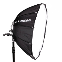 SMDV Diffuser70 Dodecagon Mobile Softbox for External OnCamera Flash 70cm