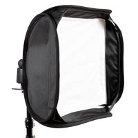 Quenox Universal Softbox 40x40 with Flash Bracket