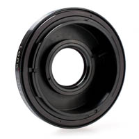 Quenox AF-confirm Lens Adapter with Glass Canon FD - Canon EOS