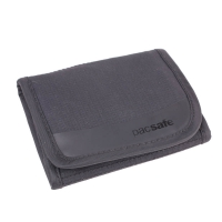 Pacsafe Walletsafe 100 TriFold Travel Wallet Anti Theft