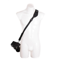 Blackrapid RStrap Kick Black Sling Camera Strap for DSLRs and Mirrorless Cameras  black