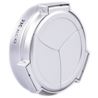 JJC Self Retaining Lens Cap for Leica X2 X1  silvercolored