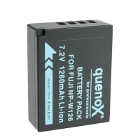 Quenox Battery Pack for Fujifilm NPW126