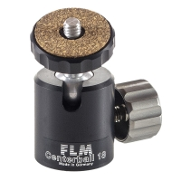 FLM Micro Ball Head Centerball CB18E with Mounting Plate