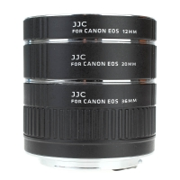 JJC Autofocus Macro Extension Tube Set for Canon EOS