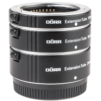 D�rr Autofocus Macro Extension Tube Set for Sony EMount  eg for Sony NEX