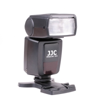 JJC SF33 OnCamera Flash for DSLRs and Mirrorless Cameras with Standard Hot Shoe