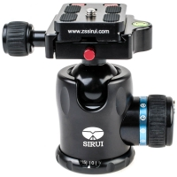 Sirui K10X Ball Head for DSLRs and Mirrorless Cameras up to 20kg  Incl Arcastyle Camera Plate