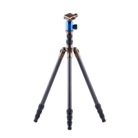 3 Legged Thing Tripod System X4 Eric Evolution 2 Carbon with AirHed 1 Blue incl Monopod