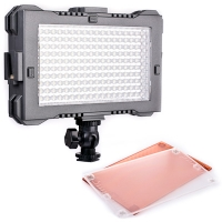 FV LED Video Light Panel HDVZ180 UltraColor Daylight with Hot Shoe Mount 1460 Lux CRI 95