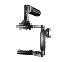 Walimex Pro Aptaris Kamerak�fig Cage mit Griff f�r Blackmagic Pocket Cinema Camera