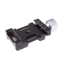 Quenox Quick Release Base for Tripods and Ball Heads Arcacompatible