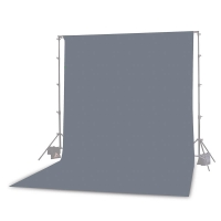 Photoflex Background Cloth 300 x 365 cm Muslin 160 gm2 Gray