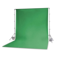 Photoflex Background Cloth 300 x 600 cm Muslin 160 gm2 Green Chroma Key