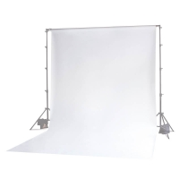 Photoflex Background Cloth 300 x 600 cm Muslin 160 gm2 White
