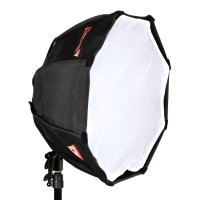 Photoflex OctoDome nxt extra small Kit Octagon Softbox 45cm incl Swivel and Flash Bracket eg for a Shoemount Flashgun