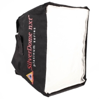 Photoflex SilverDome nxt extra small Softbox 41 x 30cm for Shoemount Flashguns Studio Lights Strobe Flashes