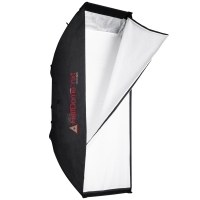 Photoflex HalfDome nxt medium Striplight Softbox 140 x 38cm for Studio Lights or Strobe Flashes