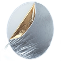 Photoflex MultiDisc Reflector 5in1 White  Gold  Silver  Translucent  SoftGold 107 cm 42 Zoll