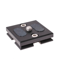 Cullmann OX390 Quick Release Camera Plate 38 x 38 mm  eg for Concept One QR Coupling Arcastyle