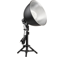 Quenox Daylight Table Lamp 30W 130W 1900 Lumen Energy Efficiency Class A for Photo  Video