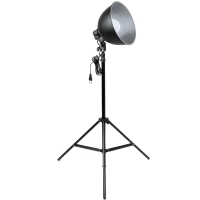 Quenox Daylight Floor Lamp 30W 130W 1900 Lumen Energy Efficiency Class A for Photo  Video