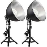 Quenox Daylight Table Lamps 30W 260W 3800 Lumen Energy Efficiency Class A for Photo  Video