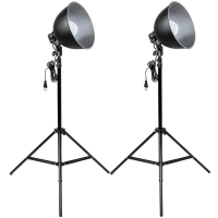 Quenox Daylight Floor Lamps 30W 260W 3800 Lumen Energy Efficiency Class A for Photo  Video