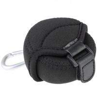 JJC Small Neoprene Lens Pouch for Interchangeable Lenses for Mirrorless Cameras 62 x 40mm