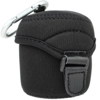 JJC MiddleSized Neoprene Lens Pouch for Interchangeable Lenses for Mirrorless Cameras 62 x 68mm