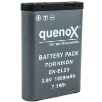 Quenox Battery Pack for Nikon ENEL23