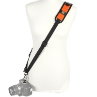 Blackrapid RStrap RS7 Curve Orange Ergonomic Sling Camera Strap for DSLRs and Mirrorless Cameras orange