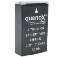 Quenox Battery Pack for Nikon ENEL22