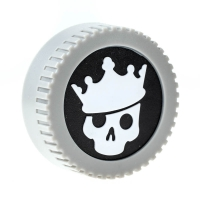 Blackrapid LensBling Skull Crown R�ckdeckel f�r Nikon F Objektiv