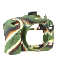 easyCover SilikonSchutzh�lle f�r Canon EOS 7D Mark II  magefertigt camouflage