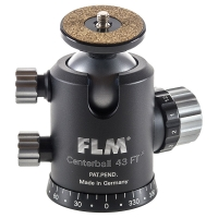 FLM CB-43 FT Mark II Kugelkopf 43 mm, 30 kg, Friktion, Panoramaboden, 2-Wege-Funktion