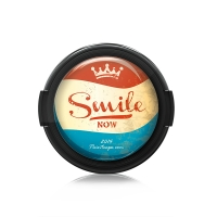 Paintcaps MotivObjektivdeckel Smile Now 55 mm  mit Rastmechanik