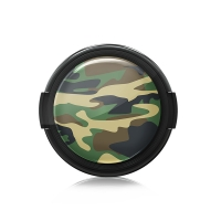 Paintcaps MotivObjektivdeckel Woodland Camo 43 mm  mit Rastmechanik