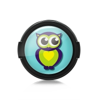 Paintcaps MotivObjektivdeckel Owl 39 mm  mit Rastmechanik